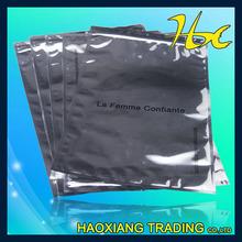 resealable aluminum foil ziplock Tea Bag empty for sale