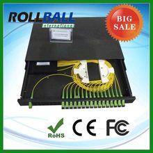 rack mount fiber optic splitter cabinet