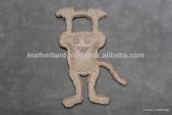 Jute Dog toy - Monkey