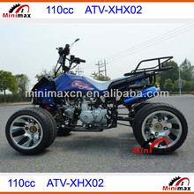 Mini Quads110cc Kids ATV Mini Quad Mini ATV Foot Start Auto Clutch for kids ATV-XHX02