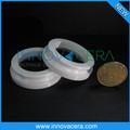 Résistance à l'abrasion en céramique de zircone anneaux pour pièces d'horlogerie/innovacera
