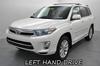 Toyota Highlander Hybrid Limited Pick Up (97462 GASOLINE)