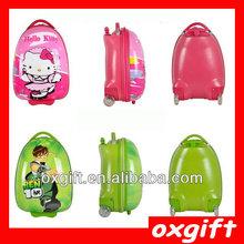 OXGIFT kids hard shell luggage