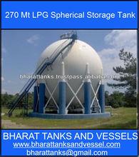 270 Mt LPG Spherical Storage Tank