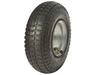 9x3.50-4 pneumatic rubber wheel for trolley/steel rim wheel/ air rubber tire
