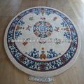 de alta calidad de forma redonda y alfombras alfombras para la casa residencial