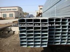 China manufacturer Galvanized square pipe price good factory