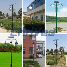 3-6M Pole Excellent Bridgeluxled solar garden lamp sunpower solar panel led solar lights for garden