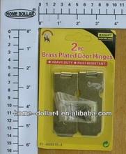 2 pcs large type laiton plaqué de sécurité moraillons / brass verrouillage hasp / laiton hasp