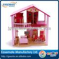 brinquedo de madeira casa de bonecas