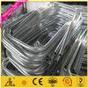 Wow!!Aluminium profile bent/bending aluminium round tubing small length andozied finish/aluminium bent tube factory/manufacturer