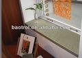 China building material menufacturer de pedra mármore artificial folheado/cultivadas mármore janela sills/slate peitoril da janela( baw- 006)