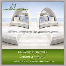 Fashionable rattan beds modern design