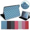 polka dot leather case for ipad mini 2