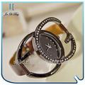hot 2013 moda mulheres açoinoxidável barato personalizado fazer seu próprio relógio