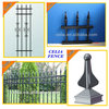 Black Coated Aluminum Fence