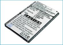 1250mAh Battery 35H00077-00M for HTC P3600 HTC P3600i P4000 P6300 D810X Trinity Trinity 100 Panda Mogul Titan 100