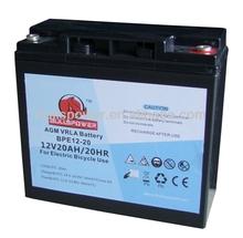 lead acid deep cycle battery solar battery 12v 20ah/agm/sealed lead acid battery 20ah