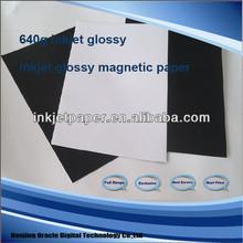 glossy magnetic photo sticker paper ,matte & glossy,inkjet printable magnetic matte paper