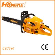 high quality Husqvana 372 gas CE Chainsaw CS7210 with Walbro carburetor