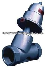Y shape pneumatic cut off valve