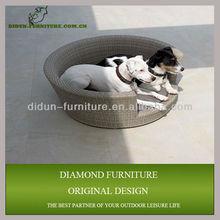 Summer outdoor rattan dog bed