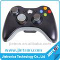 nuevo negro mango inalámbrico gamepad controlador para xbox 360