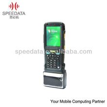 Wireless Mobile Handheld Terminal support Barcode Scanner ,Thermal Printer,RFID Reader ( Speedata MT35,IP65,Rugged )