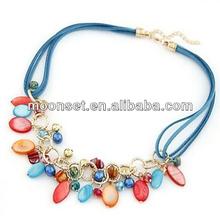Bohemian Seashell Choker Statement Necklace