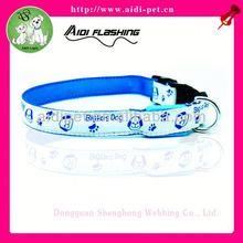 cheap led light dog collar/leopard series collar