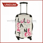 Colorful Pc Hard Shell Aluminum Trolley Luggage