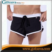 Home sports arrow dress low waist stretch milk silk men's swimming trunks