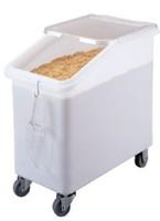 Mobile ingredient bins PP & PC rice bin flour bin