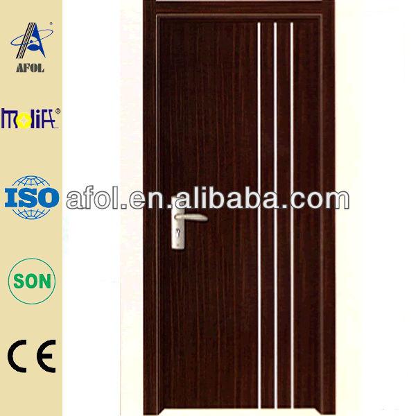 Simple design plain wood bedroom door view plain wood for Bedroom door designs in wood