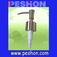 Wholesale High Quality Chrome Metal Lotion Pump Dispenser