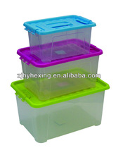 Plastic storage box plastic container for promotion