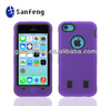 hard case back cover for mobile phone iphone 5c;shockproof duty proof hardshell case for apple iphone ligh/5c popular cover