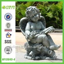 Craft Garden Polyresin Sitting Cupid Figurines