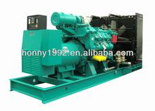 50Hz 1500RPM Diesel Generator Mega Watt