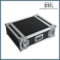 shallow portable rack case, rack flight case