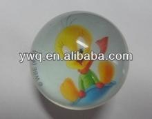 80mm transparent puffer ball transparent ball bouncy ball