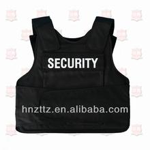 UHMWPE soft NIJ IIIA police bullet proof vest