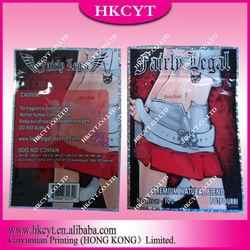 Promotional wholesale fairly legal herbal potpourri bag/10g aluminum foil ziplock bag
