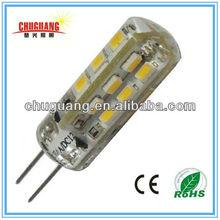 High Quality 24pcs 3014smd G4 led Dc/Ac 12v