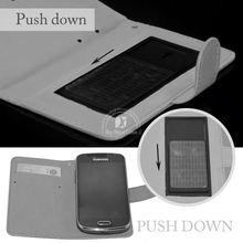 leather flip case for lg optimus black p970