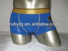 Cheap custom mid waist modal simple underwear Mens Cotton Woven Boxer shorts / Underwear Short