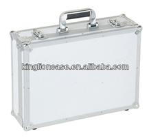 silver diamond panel functional aluminum tool boxes KL-TC069
