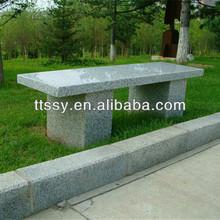 1.3m long stone cheap park bench