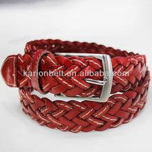 So fashional handmade braided leather belts
