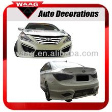 HY51561 PU Body Kit (Front&Rear) Down Spoiler For Hyundai Sonata 2011 2012 2013